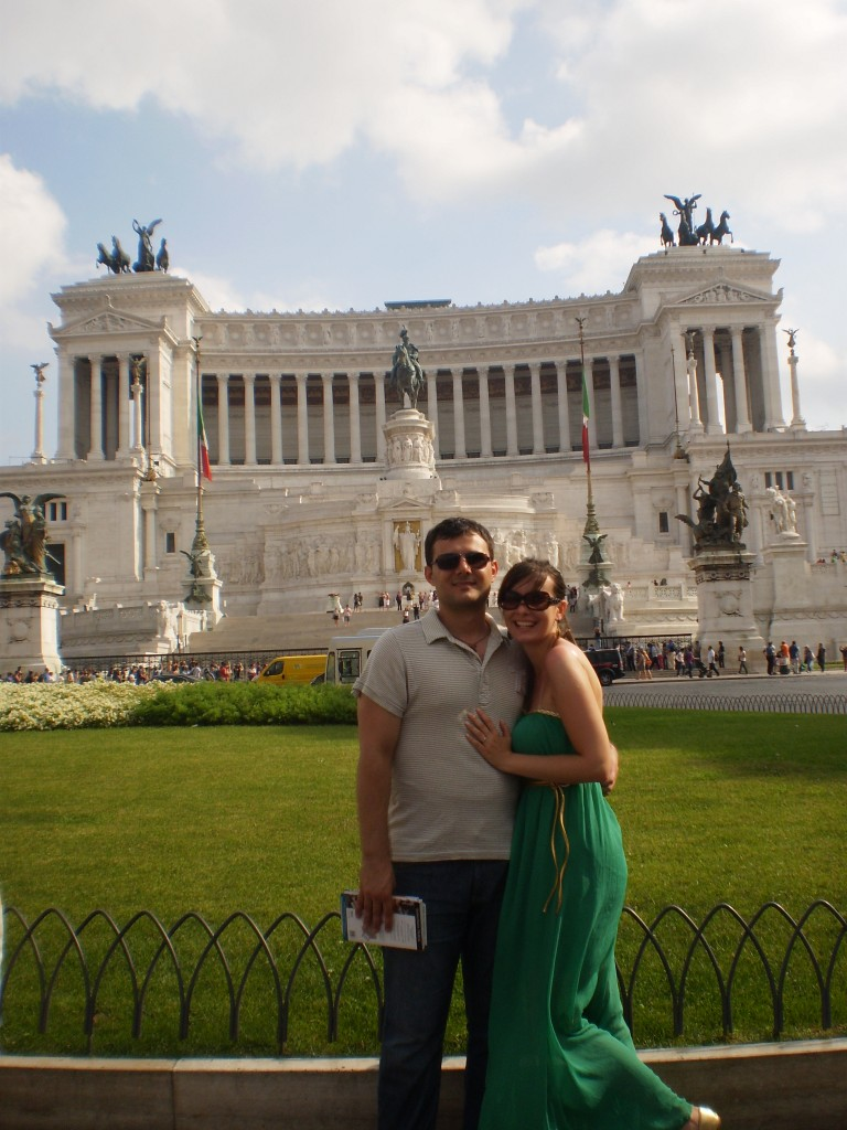 59. Spomenik se nalazi na Piazzi Venecija.