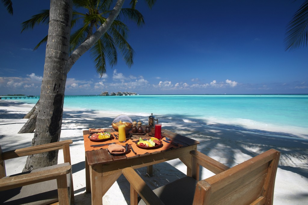 GILI LANKANFUSHI, MALDIVI